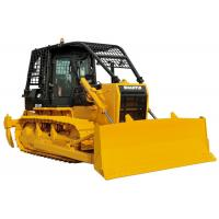 China Forest Crawler Bulldozer Front Straight Blade Rear Winch For Cutting Log / Timber on sale