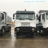 Buy cheap hot sale new model howo 10 wheels 25t 6x6 army dump truck for sale from wholesalers