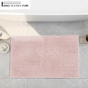 Wholesale TPR Bottom  Ultra Thick Chenille Bath Mat Runner with high breathability from china suppliers