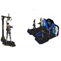 Wholesale Multiplayer 4 Virtual Reality Arcade Games Machine / VR Standing Platform from china suppliers