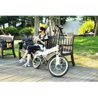 Wholesale Aluminum Alloy Material Lightweight Folding Bike , Folding Electric Bicycle Disc Brake from china suppliers