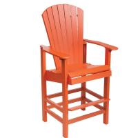 Wholesale plasticwood counter chair from china suppliers