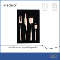 Wholesale Customized Logo 18/10 Luxury Stainless Steel Cutlery from china suppliers