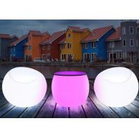 Buy cheap Color Changing Illuminated Decoration LED Bar Furniture Table Drum Shape from wholesalers
