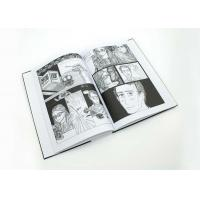 Wholesale PMS Colors Comic Book Printing Services Saddle / Spiral Binding Book Printing from china suppliers