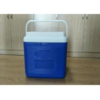 China 24L Plastic Foam Green Cold Chain Packaging PCM Cooler Box With Handle In Medical wholesale