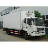 Wholesale 6 wheels 10 ton refrigerator cooling van truck from china suppliers