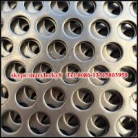 Wholesale perforated sheet/perforated metal sheet/round hole perforated metal from china suppliers