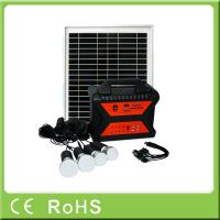 Wholesale 10W 18V factory wholesale price portable off grid home solar lighting system from china suppliers