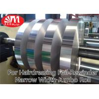 Wholesale Narrow Width Aluminium Foil Jumbo Roll 15cm*20 Micron For Hairdressing Foil Rewinder from china suppliers