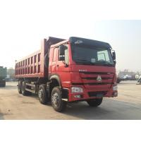 Buy cheap Used for Material Transportation Hydraulic 8*4 Backward Tilting Dump Truck from wholesalers