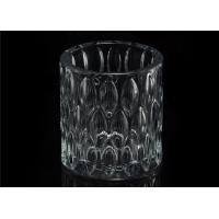 China Home decoration Wedding Decorative Glass Candle Jars Glass Candle Containers wholesale