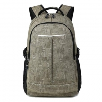 Wholesale Unisex Washable Canvas School Backpacks 30x16x45cm from china suppliers