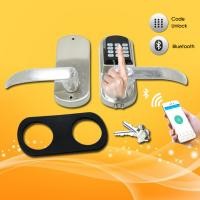 Wholesale Bluetooth Password Door Lock , Smart Entry Door Locks For Small Businesses from china suppliers