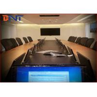 Brushed Aluminum LCD Electric Monitor Lift With 408.2 * 229.6mm Viewing Area