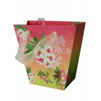 Wholesale 250gsm coated paper Die cutting, matte,  glossy varnish Coloured Paper Bags With Handles from china suppliers