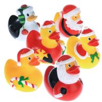 55cm height rubber duck christmas decorations squeeze floating plastic ducks - Christmas Duck