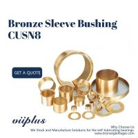 Wholesale Lubrication Pockets Wrapped Bronze Bearings CuSn8 CW453K 092 Easy Assembly from china suppliers