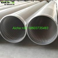 Wholesale 8 5/8inch Stainless Steel SS304 Water Well Wire Wrapped Screens Slot 40 from china suppliers