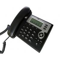 Wholesale Black SIP IP Office Telephones , Plastic VOIP SIP Phone With Keypad Hook from china suppliers