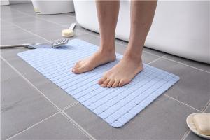 Wholesale Floor 58x88cm PVC Bath Mat With Back Side Sucker from china suppliers