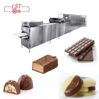Quality PLC Controlled Chocolate Production Line For Chocolate Bar With Servo System for sale