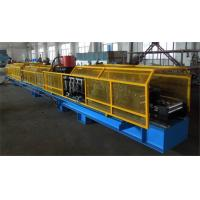 High Efficiency Cr 12 Mould Steel Roll Forming Machine , 1.5inchSingleChain Drive