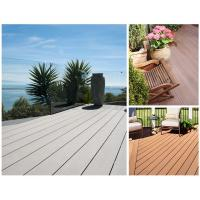 Outdoor wpc decking board 38mm thickness wpc composite for Timber decking thickness