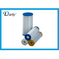 20 Inch Pp Disposable Pleated Filter Cartridge 10 Micron