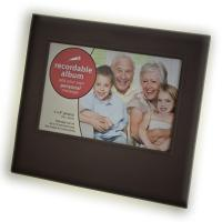 Wholesale 4 inch ABS + acrylic voice talking picture Recordable Photo Frame for family from china suppliers
