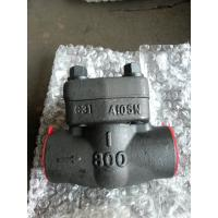 Wholesale ASTM A105N Forged Steel Swing Check Valve DN25 API 602,Trim no.5#,NPT Threaded,800LB from china suppliers