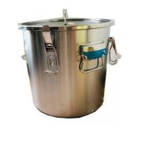Wholesale 304 Honey Bottling Tank Stainless Steel Honey Tank With Four Handles And Seal from china suppliers