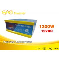 ... Grid Intelligent 12v 1200W DC AC Solar Inverter With Battery Charger