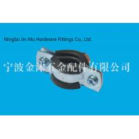 Wholesale 3 / 4 Inch Galvanised Pipe Clamps , Wall Pipe Fixing Stainless Steel Pipe Clamps And Brackets from china suppliers