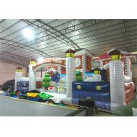 Wholesale Commercial Children Custom Made Inflatables Snowman Safe Nontoxic 10 X 6m Waterproof from china suppliers
