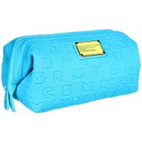 Wholesale 3.5mm handing leisure makeup case / toiletry bag with letters logo engraved on whole bag from china suppliers