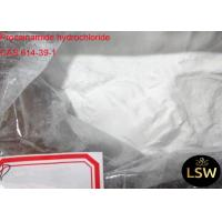 Buy cheap Procainamide Hydrochloride Pharmaceutical Raw Materials , Anabolic Steroid from wholesalers
