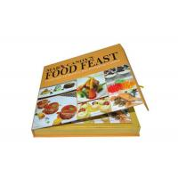 Wholesale Laminated Custom Cookbook Printing Pizza Recipe Book A4 A5 Size Printing Service from china suppliers