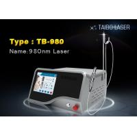 China 980nm Diode Laser Vascular Removal / 15W Laser Spider Vein Removal Machine wholesale