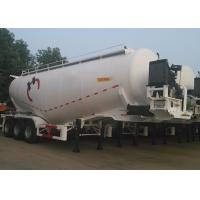 Wholesale 3 Axles Dry Bulk Pneumatic Tank Trailers For Bulk Cement Powder 59000L Volume from china suppliers