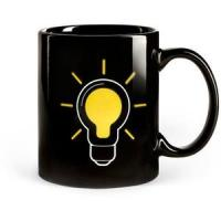 the change colors mug the lamp bulb magic cup