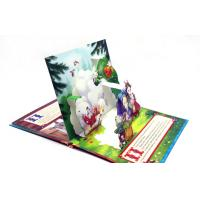 Wholesale Coloring 3D Pop Up Book Printing Story Book / Board Book Printing Service from china suppliers
