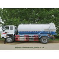 Wholesale 12000L Sewage Sucking Truck With Vacuum Pump , Sewer Cleaning Truck from china suppliers