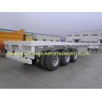 Buy cheap SINOTRUK THREE AXLE CONTAINER TRAILER FOR CONTAINER TRANSPORT from wholesalers