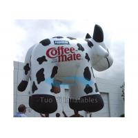 Wholesale Huge Inflatable Cow Helium Advertising Balloons With 38M Foot Long Tether Line from china suppliers