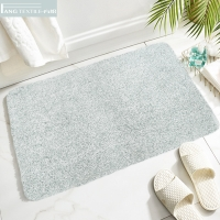 Wholesale D4 Microfiber Washable Latex Backed Bathroom Rugs quick absorption from china suppliers