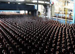 Wholesale Amber Beer ISO14001 300ml Glass Bottle Production Line from china suppliers