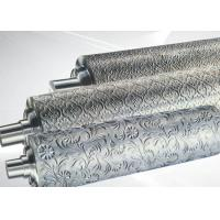 Wholesale PP ABS Embossing Roller Surface Hardness HRC55~58 , PVC Mirror Roller from china suppliers
