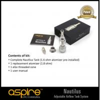 Wholesale Aspire Nautilus BDC glassomizer tank from china suppliers