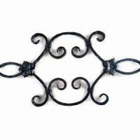 Wholesale High Standard Wrought Iron Craft, Weldable, Comes in Different Sizes from china suppliers